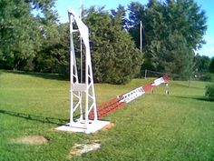 KG0ZZ's Amateur Radio Tower Stand - YouTube
