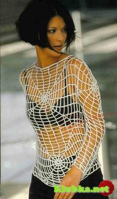 Crochet Spider Top - Chart