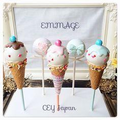 海外で大人気!♡コロンと可愛い『ケーキポップス』を作りたい♩ | marry[マリー] White Day, Cookie Pops, Bake Sale, Something Sweet, Sugar And Spice, Royal Icing, Kawaii, Baby Shower Parties, Japanese Food