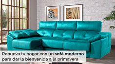 Renueva tu hogar con un sofá moderno para dar la bienvenida a la primavera