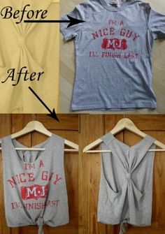 How to jazz up old tops