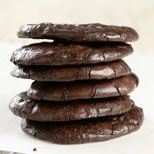 Flourless Fudge Cookies Ultra-chewy, rich chocolate cookies with no added fat? And no gluten? Impossible! But it's true: these flourless chocolate cookies get their texture from egg whites, and their flavor from cocoa powder. Plus they're easy to make: .