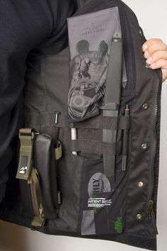 A fully loaded wearable EDC kit - tomorrows adventures Tactical Survival, Survival Tools, Camping Survival, Survival Prepping, Tactical Gear, Camping Gear, Survival Shelter, Bushcraft, Tac Gear