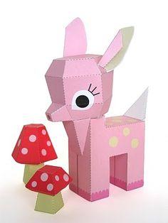 Muxugorri Blog: DIY: Juguetes de papel