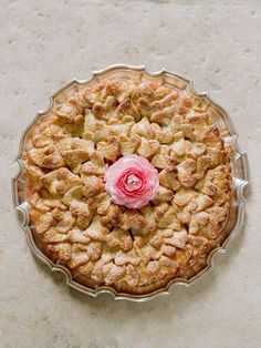 cut-out heart apple pie crust