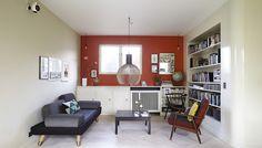 Arkitektens farverige 50'er-villa