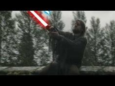Jaime Lannister Vs Brienne of Tarth with Lightsabers (Warning: Mild spoiler alert)