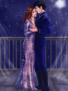 Rhys and Feyre Star Fall