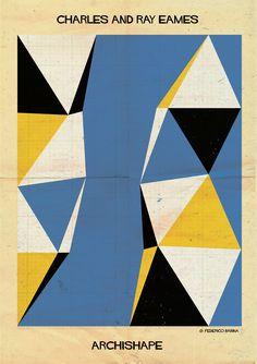 Charles and Ray Eames ARCHISHAPE - federico babina