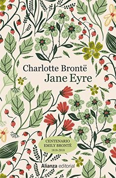 Floral book cover design for Charlotte Bronte by Jane Eyre Book Cover Art, Book Cover Design, Book Art, Charlotte Bronte Jane Eyre, Emily Bronte, Ex Libris, Jane Eyre Book, Diary Covers, Buch Design