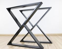 Metal Table Legs 2x2 Flat Black Set of 4 | Etsy Industrial Metal Table Legs, Metal Desk Legs, Industrial Style Dining Table, Modern Table Legs, Steel Dining Table, Steel Table Legs, Coffee Table Legs, Metal Desks, Dining Table Legs