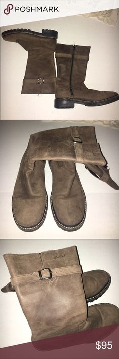 Martino Boots - Size 9 1/2 Suede Boots. Very good condition. Mid high boots . Make an offer. Martino Shoes Ankle Boots & Booties