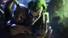 Joker and Harley Quinn | Batman by Urbanator.deviantart.com on @deviantART