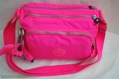 NWT Kipling RETH Shoulder Cross Body Bag- Surfer Pink