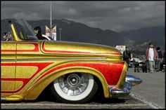 Flaked and Patterned Ford truck