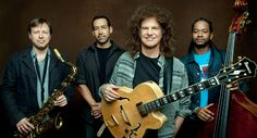 """Patrick Bruce """"Pat"""" Metheny; born August 12, 1954 in Lee's Summit, Missouri is an American jazz guitarist and composer. He is the leader of the Pat Metheny Group and is also involved in duets, solo works and other side projects. His style incorporates elements of progressive and contemporary jazz, post-bop, Latin jazz and jazz fusion. He has three gold albums and 20 Grammy Awards. He is the brother of jazz flugelhorn player and journalist Mike Metheny."""