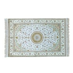 "en Tabriz 250 Kpsi Hand-knotted Rug (4'1 x 6'2) (Exact Size: 4'1"" x 6'2"")"