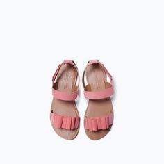 SANDAL WITH BOW-View All-Shoes-Girl (3-14 years)-KIDS | ZARA United States