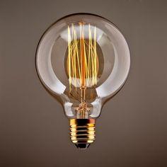 CMYK® Antike Edison Vintage MasterGlobe Glühbirne (40W, E27, 220-240V) Ideal für Nostalgie und Retro Beleuchtung: Amazon.de: Beleuchtung