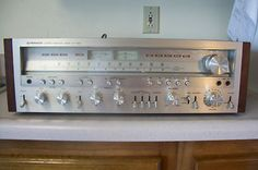 Vintage Pioneer Stereo Receiver Model SX1050 from 1976! This is funny, i still have this!!!!!