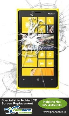Broken Screen replacement for Nokia Cell  in Andheri and all accross Mumbai. Here is the place Dial on 9821018006