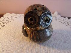 Sale Owl aroma burning/  owl / figurine/ porcelain/ by RetroBuy,