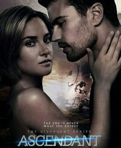 Ascendant couple Tris and Four, Shailene Woodley and Theo James.