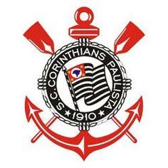 Sport Club Corinthians Paulista 1980   *No dia 26 de outubro de 2011, o Corinthians anunciou a retirada das estrelas do escudo.  Foram pouco mais de 20 anos com as estrelas acompanhando o emblema alvinegro.  O Corinthians jogou pela primeira vez com o novo escudo no dia 15 de janeiro de 2012, no empate em 2 x 2 contra o Flamengo (amistoso realizado na cidade de Londrina).