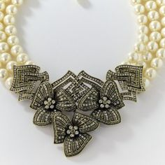 """Gotta Have It"" 3-Row Beaded Drop Necklace by Heidi Daus"