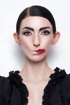Maquillaje experimental