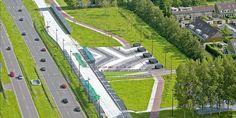 Meervoudige opdracht voor inpassingsvisie van de vrije busbaan tussen Schiphol en Haarlem i.o.v. Schiphol Project Consult, gemeente Haarlemmermeer en Provincie Noord-Holland (1998, eerste prijs)