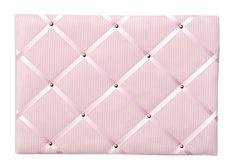 Memoboard Streifen rosa 45x65cm
