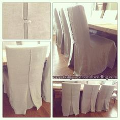 Ikea Hendriksdal Custom Slipcover (made-to-order for nationwide shipment) By LS Slipcovers & Bedding. This slipcover has an inverted back pleat with fabric covered button closure, knife-edge and made with natural flax tissue linen.
