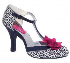 Ruby Shoo Jada Navy shoes