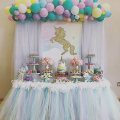 Unicorn Candy Buffet by Bizzie Bee Creations