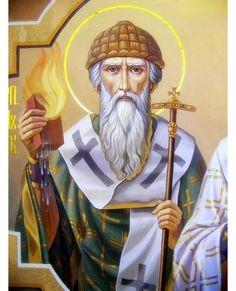 The Icon of Saint Spiridon of Trimythus, Byzantine Icons, Byzantine Art, Famous Freemasons, S Icon, Avatar The Last Airbender Art, Figure Sketching, Russian Orthodox, Sketch Painting, Orthodox Icons