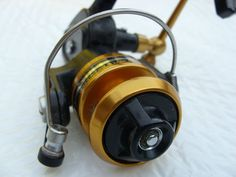 Vintage Penn 420SS Ultra Light Spinning Fishing Reel. I have this reel on one of my rods... Great reel!