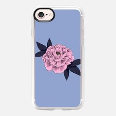 Casetify iPhone 7 Case and Other iPhone Covers - Peony (Pink) by Megan Roy | #Casetify