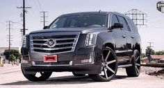 cadillac escalade white with 24 inch rims - Google Search