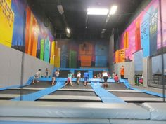Get ready to jump, bounce and run off some energy at Urban Jungle, San Diego's newest place to play.