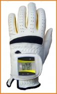 SensoGlove is a golf glove with built in sensors that help correct your grip by beeping if you squeeze the club too hard http://www.ktla.com/technology/ktla-golf-gadgets-improve-your-game-20120615,0,6592819.story