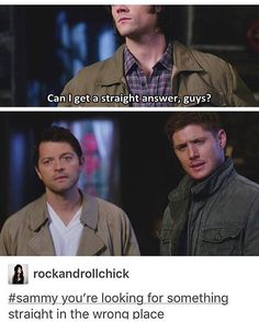 You're looking for something straight in the wrong place. Supernatural.