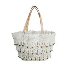 Crochet bags,Crocheted Handbags ❤ liked on Polyvore featuring bags, handbags, crochet purse, handbags bags, macrame purse, crochet hand bag and macrame bag