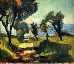 Olive Trees, 1898 Henri Matisse