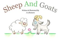 Sheep And Goats By J.A.Romero