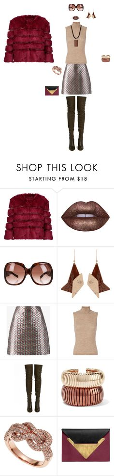 """""""Let's Go Go!"""" by dana-d-lindsey on Polyvore featuring AINEA, Lime Crime, Dsquared2, STELLA McCARTNEY, Miu Miu, T By Alexander Wang, ALEXA WAGNER, Rosantica, Effy Jewelry and Dareen Hakim"""
