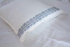 henna pattern on a pillow