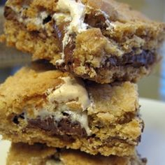 S'more Cookie Bars! (from Baking Bites)