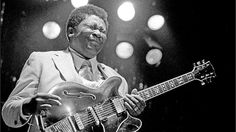 B.B. King English audiences embraced B.B. King early on and never let go. This picture was taken at London's Hammersmith Odeon on October 14th, 1978.
