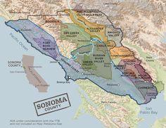 Appellations | Sonoma Wine